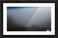 Misty Fog Picture Frame print