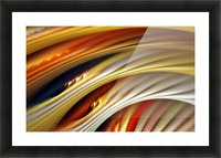 Colors Stripes Abstract Background Strings Picture Frame print