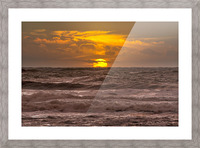 Fire & Water III Picture Frame print