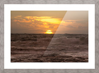 Fire & Water Picture Frame print