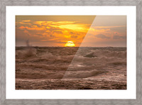 Fire & Water II Picture Frame print