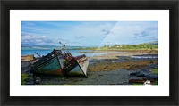 Leaning wrecks Picture Frame print