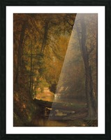 The Trout Pool Picture Frame print