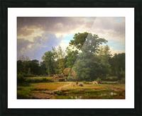 Paesaggio della Westfalia Picture Frame print