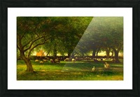 Noon in the Orchard Picture Frame print