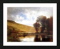 Autumn on the Deleware Picture Frame print