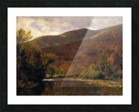 Along the Delaware Picture Frame print