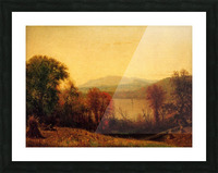 Autumn on the Hudson Picture Frame print