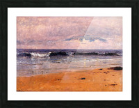 Seascape by the beach Picture Frame print