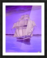Fantasy Shade Picture Frame print