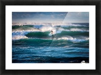 Surfing Picture Frame print