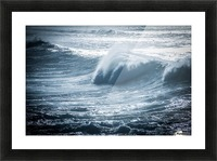 Wave Picture Frame print