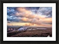 Kilauea Picture Frame print