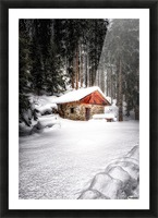 The Alps Picture Frame print