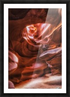Antelope Canyon 3 Picture Frame print