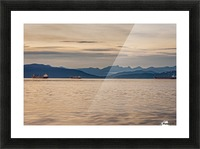 Pacific North West Picture Frame print