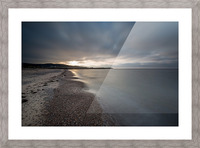 Belle Cote Beach at Sunset Picture Frame print