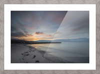 Belle Sunset Picture Frame print