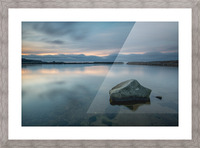 Inside the Harbour Picture Frame print