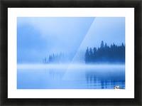 Foggy Lake Picture Frame print