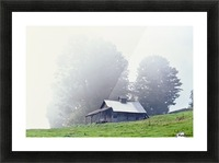 House Near Peacham, Vermont, Usa Picture Frame print