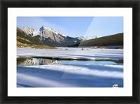 Medicine Lake, Jasper National Park, Alberta, Canada Picture Frame print