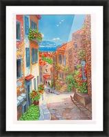 postcard Picture Frame print