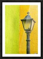 La Crucecita City, Bahias De Huatulco, Oaxaca State, Pacific Coast, Mexico; Lamp In Picture Frame print