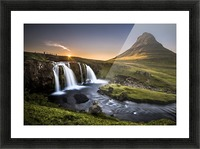 Fairy-Tale Countryside in Iceland Impression et Cadre photo
