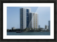 Miami Beach Buildings Impression et Cadre photo