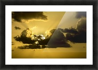 Breaking Sun Picture Frame print