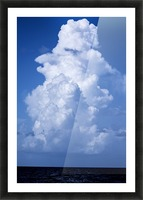 Billowing Picture Frame print
