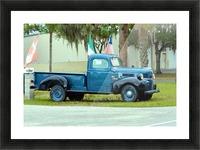 Old Truck Impression et Cadre photo