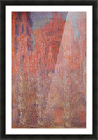 Claude_Monet - Rouen Cathedral Facade Picture Frame print