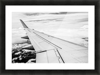 Airplane Wing Picture Frame print