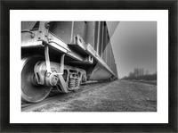 Rail Cars Picture Frame print