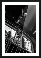 Rolls Emblem Picture Frame print