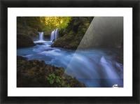 Spirit Falls; Washington, United States of America Picture Frame print
