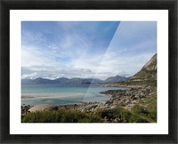 Cold Summer Picture Frame print