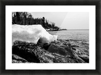 Spring Lakeshore Picture Frame print