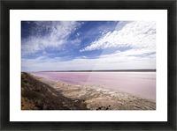 Pink Lake Impression et Cadre photo