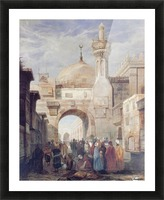 Mosque of Al Azhar in Cairo Picture Frame print