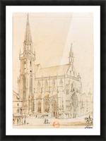 Eglise de Thann Picture Frame print
