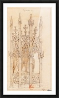 Tombeau du Christ Picture Frame print