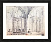 Octogone d'Ottmarsheim Picture Frame print