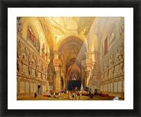 Interieur de la cathedrale Saint-Jean-des-Rois de Tolede Picture Frame print