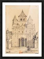 Eglise de Marrmoutier Picture Frame print