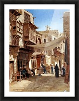 Mosques, Egypt and Damascus Picture Frame print