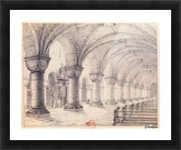 Eglise Saint-Georges Picture Frame print