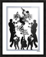 Music Feelings Picture Frame print